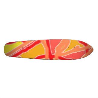 型枠2のデザインAへのスケートボードの無秩序 スケボー