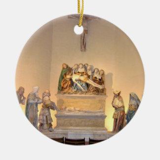 埋葬1490年(色彩の鮮やかな石) セラミックオーナメント