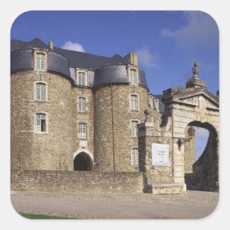 城および博物館、ブローニュ、Pas-de-Calais、 スクエアシール