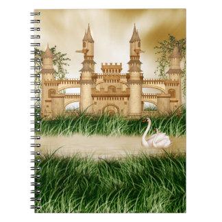 城および白鳥のノート ノートブック