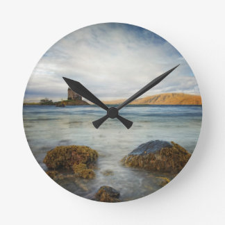 城のストーカー、スコットランド ラウンド壁時計