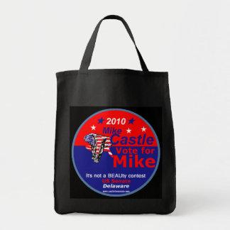 城のデラウェア州バッグ トートバッグ