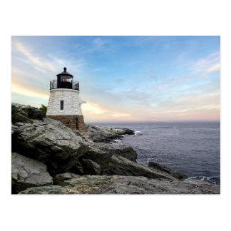 城の丘の灯台 ポストカード
