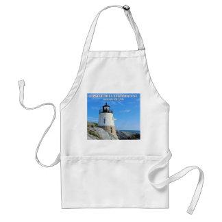 城の丘の灯台、ロードアイランド スタンダードエプロン