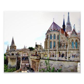 城の丘ブダペスト フォトプリント