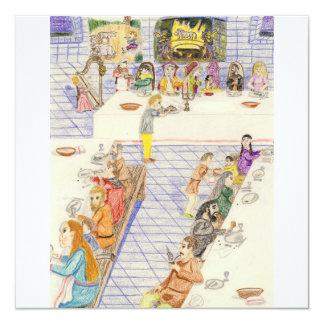城の夕食の時間 カード