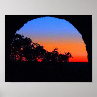 城の夜明け ポスター