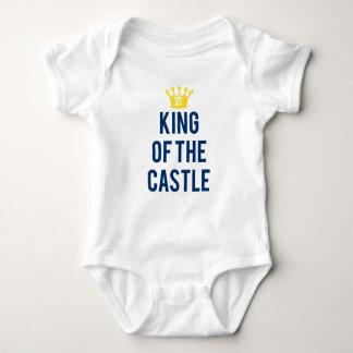 城の子供のティーの王 ベビーボディスーツ