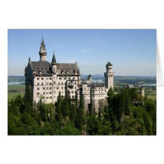 城の引っ越し祝いパーティーカード カード