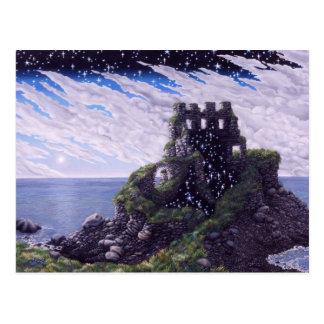城の影 ポストカード