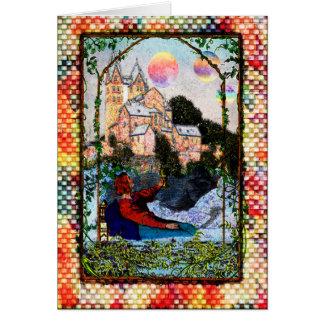 城の挨拶状上の惑星 カード