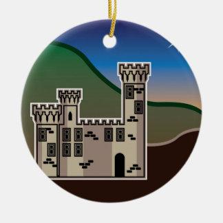 城の星 セラミックオーナメント