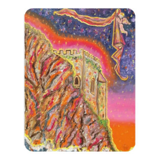 城の火の赤 カード