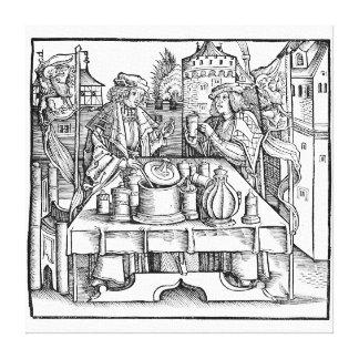 城の王室のな錬金術師 キャンバスプリント