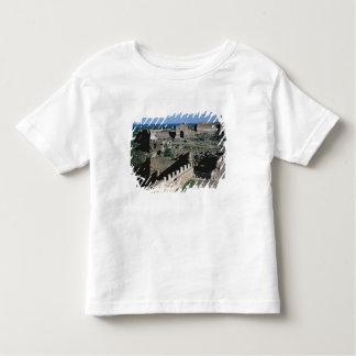 城の眺め、第8第12世紀 トドラーTシャツ