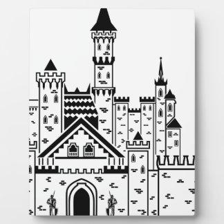 城の騎士 フォトプラーク