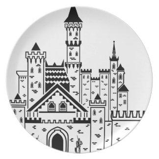 城の騎士 プレート