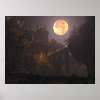 城ドラキュラ(24x18) ポスター