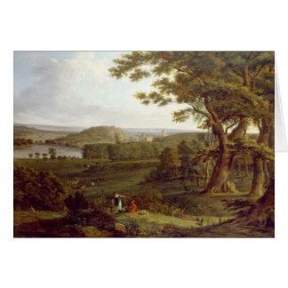 城ハワードの北西のからのT31507眺め、 カード