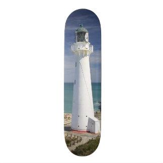 城ポイント灯台、Castlepoint、Wairarapa、 20cm スケートボードデッキ