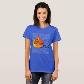 城砦のくねりBerners -暗い色のためのレディースTシャツ Tシャツ