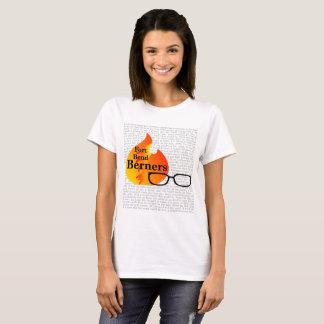 城砦のくねりBerners -薄い色のためのレディースTシャツ Tシャツ
