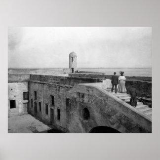 城砦のマリオンのキャンバスのプリント ポスター