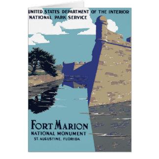 城砦のマリオンの国有記念物 カード