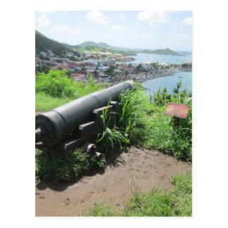 城砦のルイの城壁の大砲 ポストカード