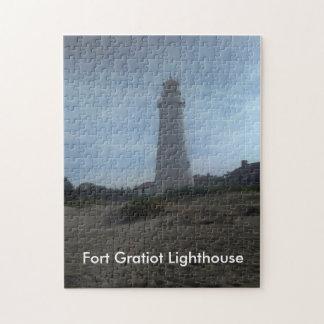城砦のGratiotの灯台 ジグソーパズル