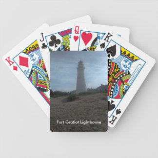 城砦のGratiotの灯台 バイスクルトランプ
