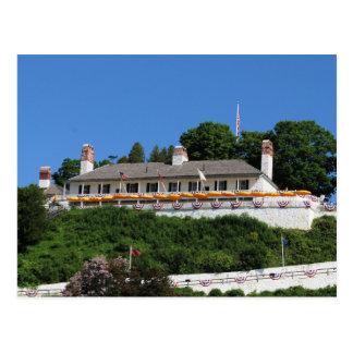 城砦のMackinacの郵便はがき ポストカード