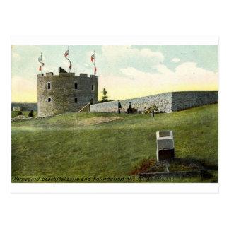 城砦ヘンリーのPemaquidのビーチのメインの1910年のヴィンテージ ポストカード