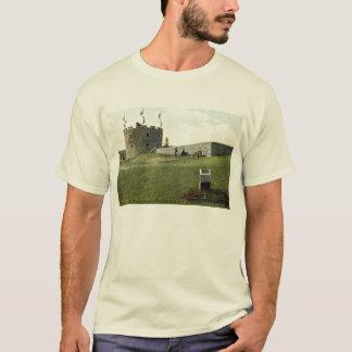 城砦ヘンリーのPemaquidのビーチのメインの1910年のヴィンテージ Tシャツ