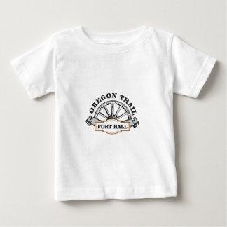 城砦ホールマーカーのオレゴンの道 ベビーTシャツ