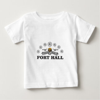 城砦ホール車輪のアーチ ベビーTシャツ