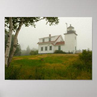 城砦ポイント灯台、メイン ポスター