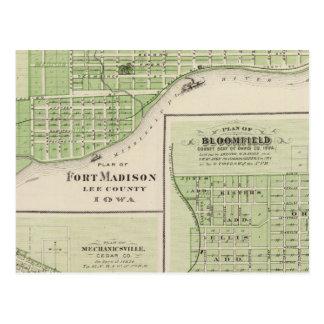 城砦マディソンの計画 ポストカード