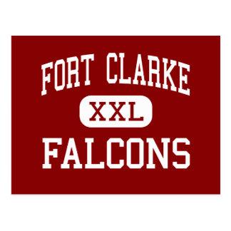 城砦Clarke - 《鳥》ハヤブサ-中間- Gainesville ポストカード