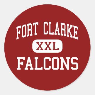 城砦Clarke - 《鳥》ハヤブサ-中間- Gainesville ラウンドシール