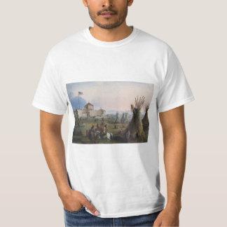 城砦LaramieのSubletteの城砦、Fort William、ミラー Tシャツ