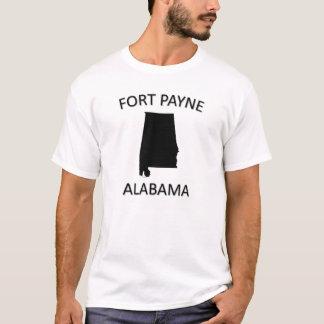 城砦Payneアラバマ Tシャツ
