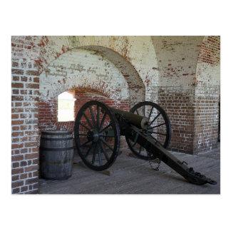 城砦Pulaskiの大砲 ポストカード