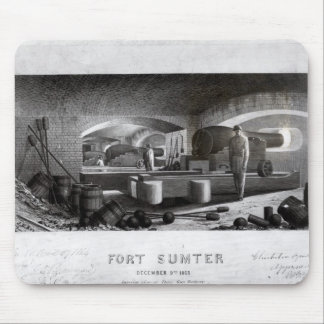 城砦Sumter、3砲台の内部の眺め マウスパッド