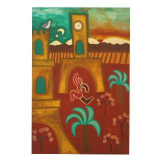 城2010年の征服 ウッドウォールアート