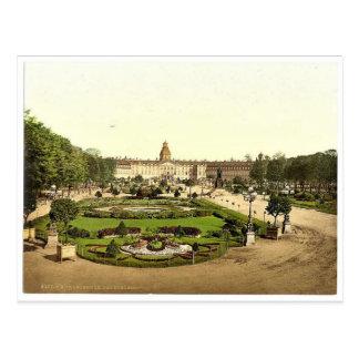 城、カルルスルーエ、Baden、ドイツまれなPhotoch ポストカード