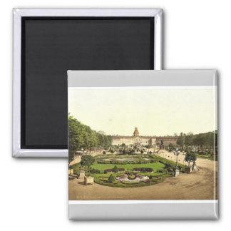 城、カルルスルーエ、Baden、ドイツまれなPhotoch マグネット