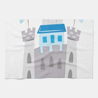 城 キッチンタオル