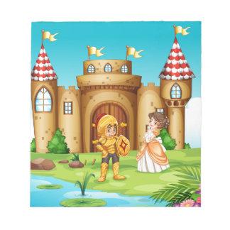 城 ノートパッド