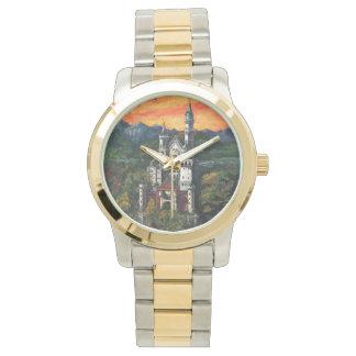 城Schlossノイシュヴァンシュタイン城 腕時計